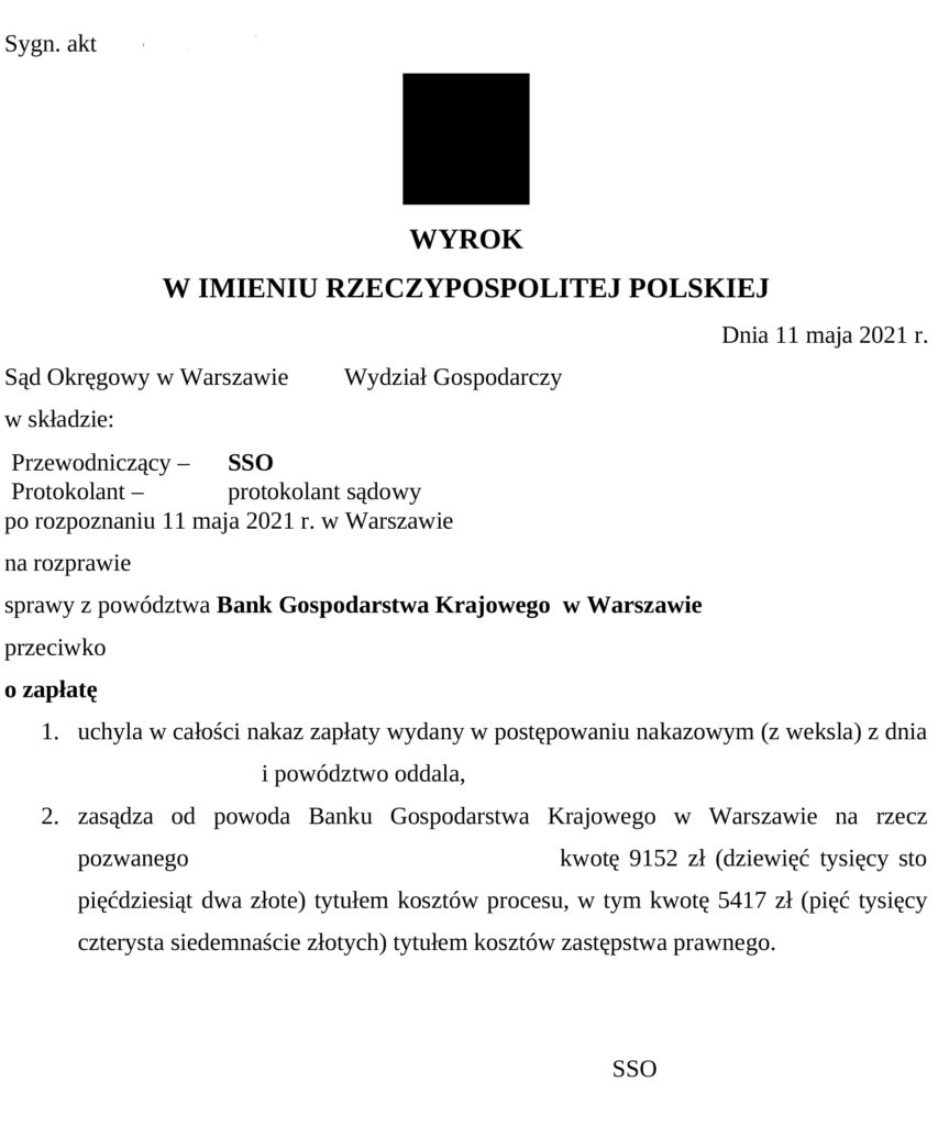 wyrok-BGK-gwarancja-bgk